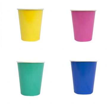 Bright Party Cups